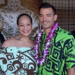 Anamativa Grey Niumata and Eddie Kaulukukui with Show Me Your Pukana