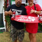 Hawaii's Daughters Guild Booth at 2014 Alondra Park Ho'olaule'a. Photo credit: Makanani Rickard
