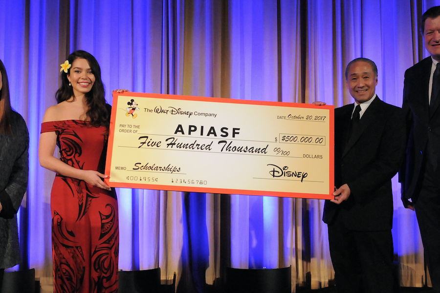 Disney Asian & Pacific Islander American Scholarship Fund APIASF Scholarship with Aulii Carvalho