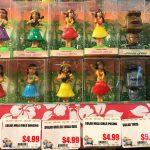 Mini Dashboard Hula Dolls