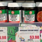 Halm's Enterprise Hawaiian Bar-B-Que Sauce, Hawaiia Teriyalo Sauce, Lum's Char Siu Sauce