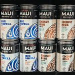Maui Brewing Co. Pineapple Mana Wheat, Big Swell IPA, Coconut Hiwa Porter, Bikini Blonde Lager