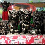 Mini Tiki Wood Figures