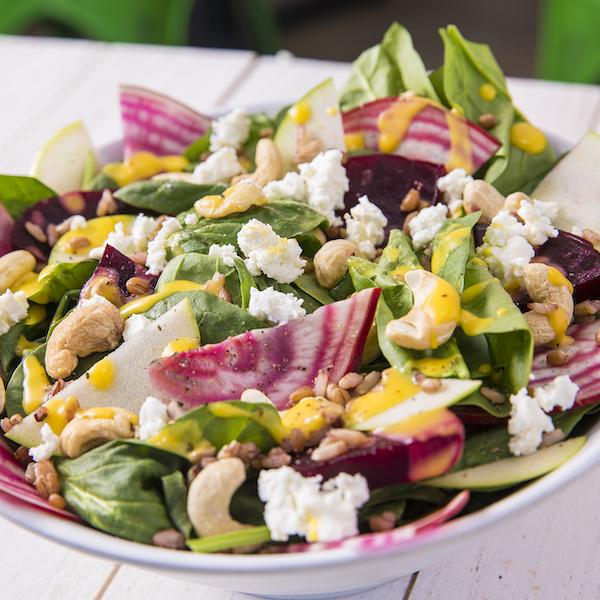 Beet & Goat Cheese Salad, Fork & Salad, Old Towne Orange, CA.
